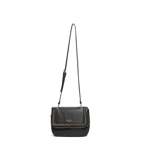 Genti Femei GUESS Sharlet Faux-Leather Crossbody black