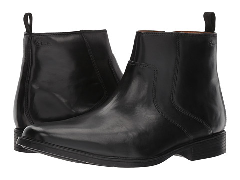 Incaltaminte Barbati Clarks Tilden Zip Black Leather
