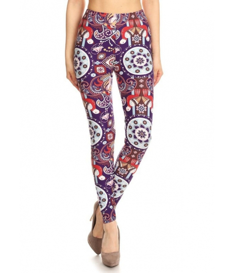 Imbracaminte Femei CheapChic Womens Juniors Printed Leggings (One Size) Multicolor