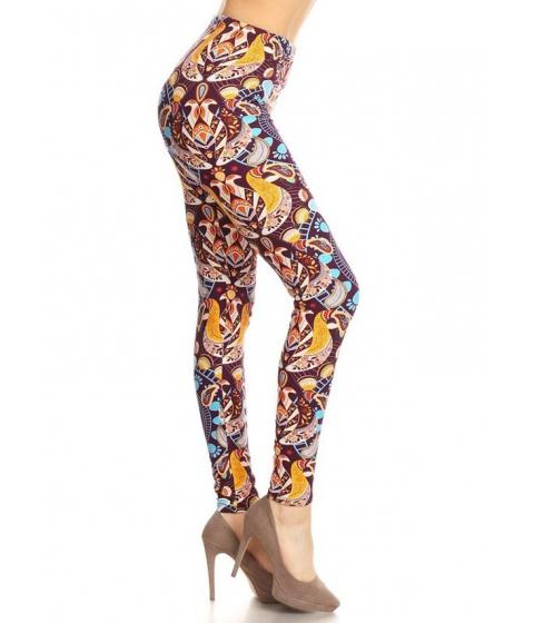 Imbracaminte Femei CheapChic One Size Printed Leggings for Juniors Multicolor