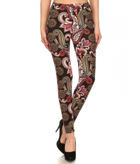 Imbracaminte Femei CheapChic Juniors High Rise Printed Leggings (One Size) Multicolor