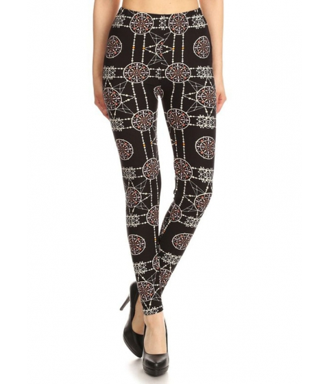 Imbracaminte Femei CheapChic Juniors Stretchy High Waist Printed Leggings (One Size) Multicolor