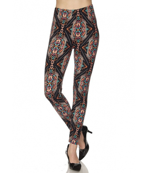 Imbracaminte Femei CheapChic One Size Stretchy High Waist Printed Leggings Multicolor