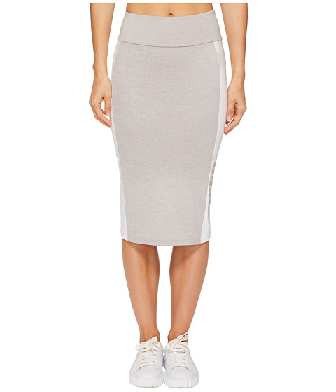 Imbracaminte Femei PUMA Archive Logo Pencil Skirt Light Grey Heather