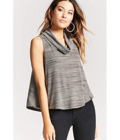 Imbracaminte Femei Forever21 Cowl Neck Swing Top OLIVE