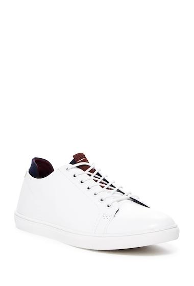 Incaltaminte Barbati Kenneth Cole Reaction Faux Leather Sneaker WHITE