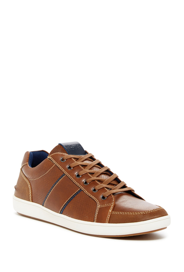 Incaltaminte Barbati Kenneth Cole Reaction Perforated Sneaker COGNAC