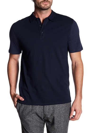 Imbracaminte Barbati Vince Mixed Knit Polo Shirt COASTALH COASTAL