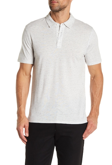 Imbracaminte Barbati Vince Mixed Knit Polo Shirt H WHITEH WHITE