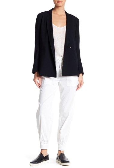 Imbracaminte Femei Theory Cortlandt Linen Blend Joggers WHITE