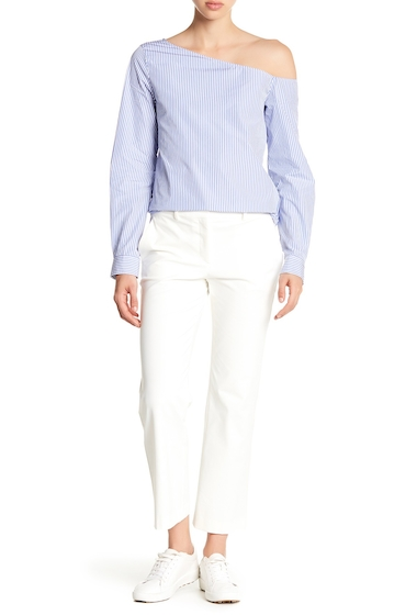 Imbracaminte Femei Theory Hartsdale Solid Pants NEW IVORY