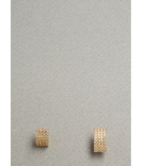 Bijuterii Femei CheapChic Curve Appeal Rhinestone Earrings Gold