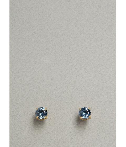 Bijuterii Femei CheapChic Jewel Intentions Faux Gem Stud Earrings Blue