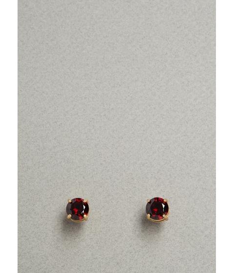 Bijuterii Femei CheapChic Jewel Intentions Faux Gem Stud Earrings Red