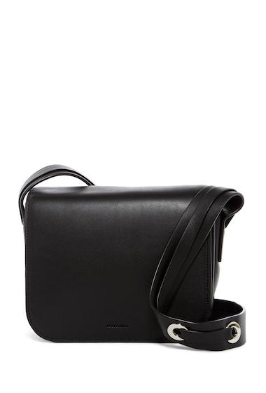 Genti Femei ALLSAINTS Ikuya Leather Crossbody Bag BLACK