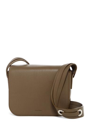 Genti Femei ALLSAINTS Ikuya Leather Crossbody Bag MINK GREY