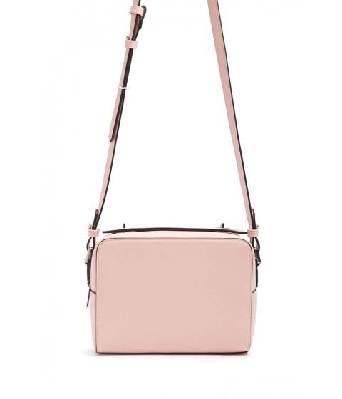 Genti Femei Forever21 Faux Leather Crossbody Bag BLUSH
