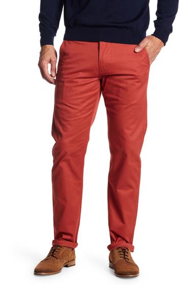 Imbracaminte Barbati Dockers Alpha Original Khaki Red Slim Tapered Pant RED
