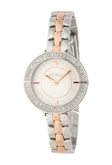 Ceasuri Femei Furla Womens Club Swap Case Bracelet Watch 34mm SILVER