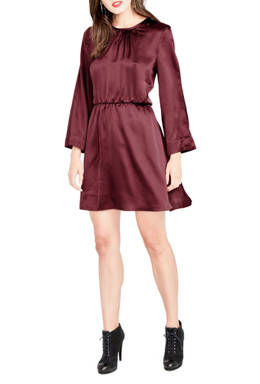 Imbracaminte Femei Rachel Rachel Roy Julia Draped Sleeve Dress PORT WINE