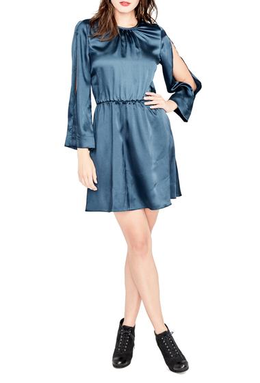 Imbracaminte Femei Rachel Rachel Roy Julia Draped Sleeve Dress TEAL BLUE