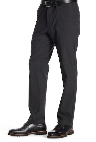 Imbracaminte Barbati Kenneth Cole Reaction Performance Flex-Waistband Slim Fit Dress Pants - 29-34 Inseam CHARCOAL