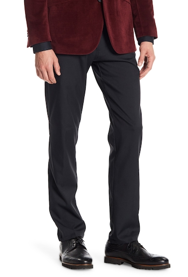 Imbracaminte Barbati Kenneth Cole Reaction Slim Fit Solid Pant BLACK
