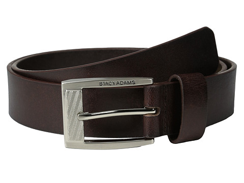Accesorii Barbati Stacy Adams 35mm Full Grain Buffalo Brown