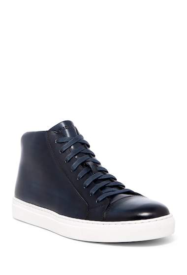 Incaltaminte Barbati Magnanni Mack High Top Sneaker NAVY