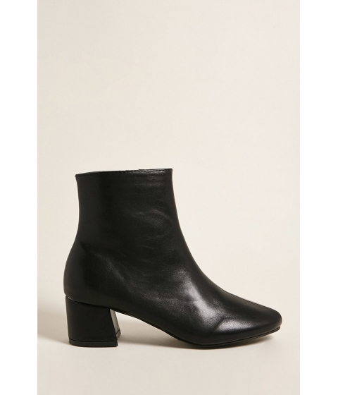 Incaltaminte Femei Forever21 Yoki Pointed Toe Ankle Boots BLACK