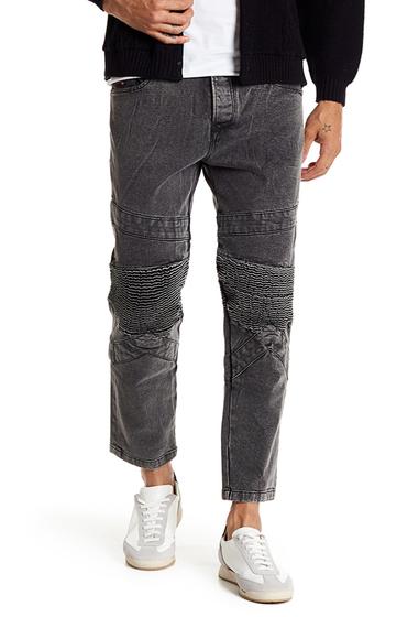 Imbracaminte Barbati Diesel P-Sleenker Slim Fit Skinny Patch Jeans BLACK