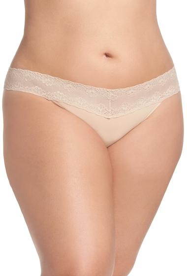 Imbracaminte Femei Natori Bliss Perfection Thong Plus Size COSMETIC