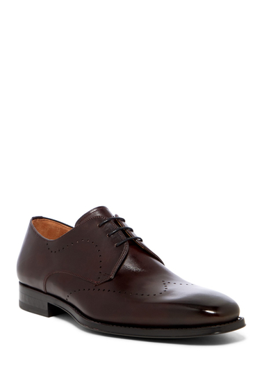 Incaltaminte Barbati Magnanni Chance Wingtip Derby BURGUNDY