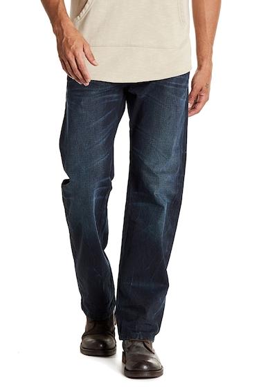 Imbracaminte Barbati Diesel Larkee Regular Fit Straight Leg Jeans - 30 Inseam BLACKDENIM