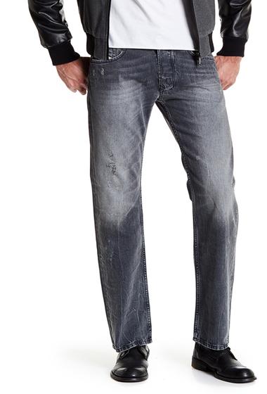 Imbracaminte Barbati Diesel Larkee Distressed Regular Fit Jeans - 30 Inseam DENIM