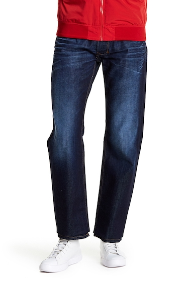 Imbracaminte Barbati Diesel Larkee Regular Fit Straight Leg Jeans - 34 Inseam DENIM