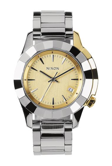 Ceasuri Barbati Nixon Mens Monarch Bracelet Watch 38mm SVLTGD
