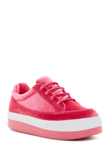 Incaltaminte Femei Jeffrey Campbell Shuvit Velour Platform Sneaker FCVT CMBO