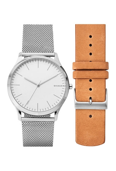 Ceasuri Femei Skagen Womens Jorn Bracelet Strap Watch Box Set 40mm MULTI