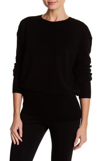 Imbracaminte Vince Cashmere Split-Back Pullover BLACK