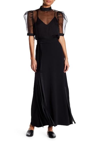 Imbracaminte Femei Helmut Lang Ribbon Skirt BLACK