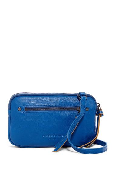 Genti Femei Liebeskind Berlin Janina Sporty Leather Crossbody Bag ELECTRIC BLUE