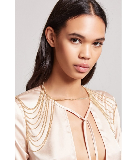 Bijuterii Femei Forever21 Draped Shoulder Chain GOLD