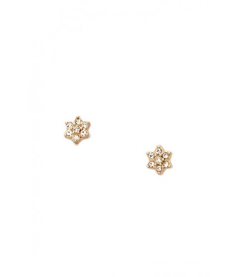 Bijuterii Femei Forever21 Floral Rhinestone Stud Earrings GOLDCLEAR