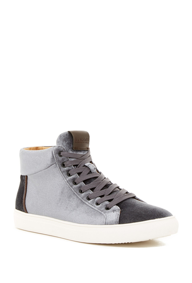Incaltaminte Barbati Kenneth Cole Reaction Velvet Mid Sneaker GREY