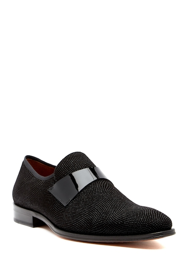 Incaltaminte Barbati Mezlan Textured Loafer BLACK