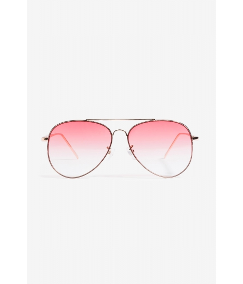 Ochelari Femei CheapChic Fall In Air Tinted Aviator Red Print