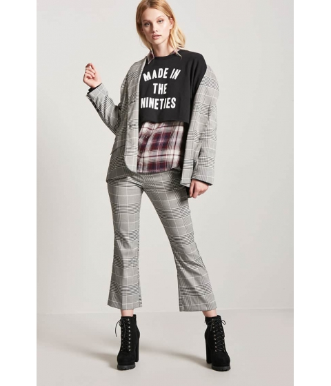 Imbracaminte Femei Forever21 Made In The 90s Graphic Sweater BLACKWHITE