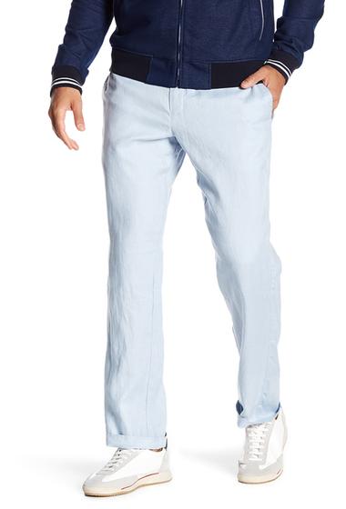 Imbracaminte Barbati TailorByrd Linen Pants - 30-34 Inseam LT BLUE