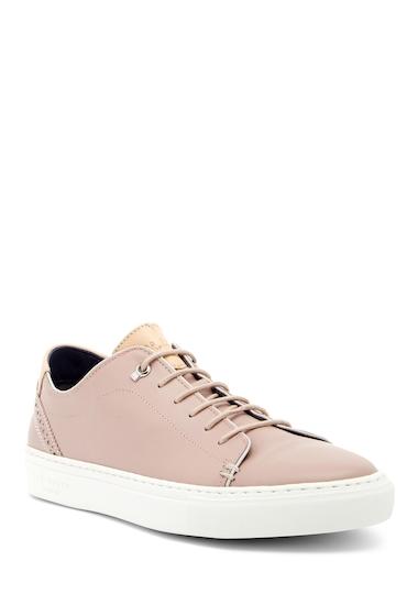 Incaltaminte Barbati Ted Baker London Kiing Leather Sneaker LT PINK